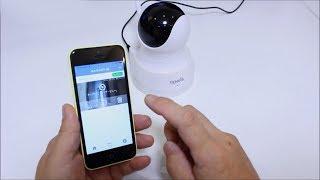 防犯ネットワークカメラ Wi-Fi [TENVIS TH661D]
