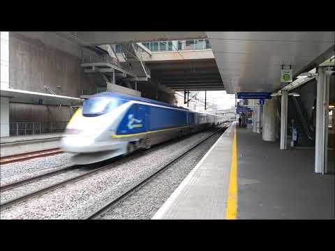 Europe high speed rail intense edition