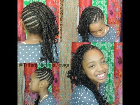 Crochet Braids Kid Friendly : Quick Micro Braid Illusion with Crochet Braids