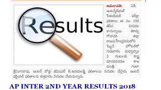 MANABADI AP SR INTER RESULTS 2018