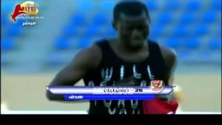 هدف الأهلي الأول  والفوز 1 مقابل 0 غزل المحلة الأسبوع الأول الدوري 2 فبراير 2013