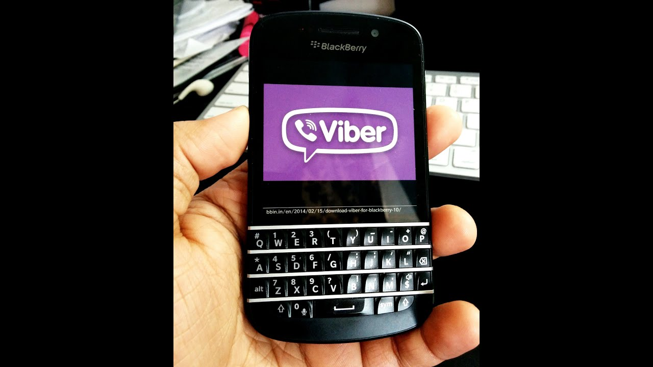viber sur blackberry q10