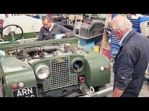 I maghi del garage - La leggendaria Land Rover