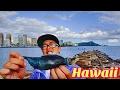 くちびる長すぎのトロピカルフィッシュが釣れた![ハワイ旅行で海釣り]