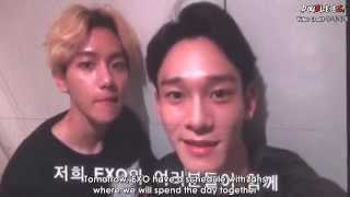 engsub 151010 exo love concert in dome vcr