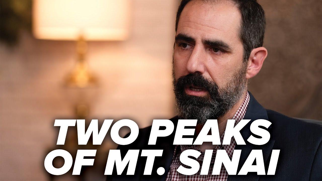 Two Peaks of Mount Sinai - Mt. Sinai in Arabia - Episode 8