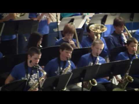 Jazz Hero performed by Rogers Middle School