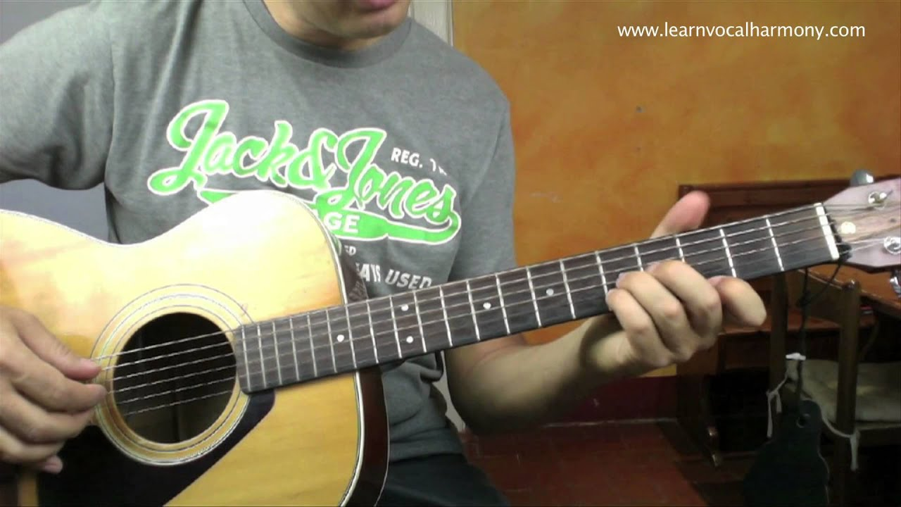 how to really play dear prudence guitar lesson with loop