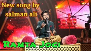 Ramta jogi | salman ali's new song | indian idol | Grand finale | salman ali's best song |