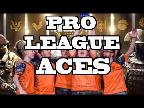 BEST PRO LEAGUE ACES Rainbow Six Siege Season 2