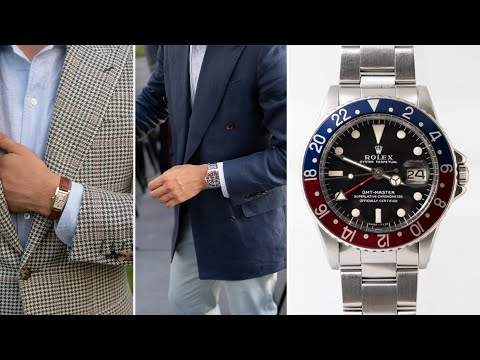 How To Wear Rolex, Omega, & Cartier w/ Denis Frison
