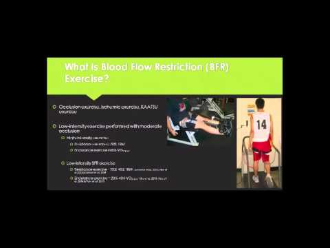 Blood Flow Restriction Exercise