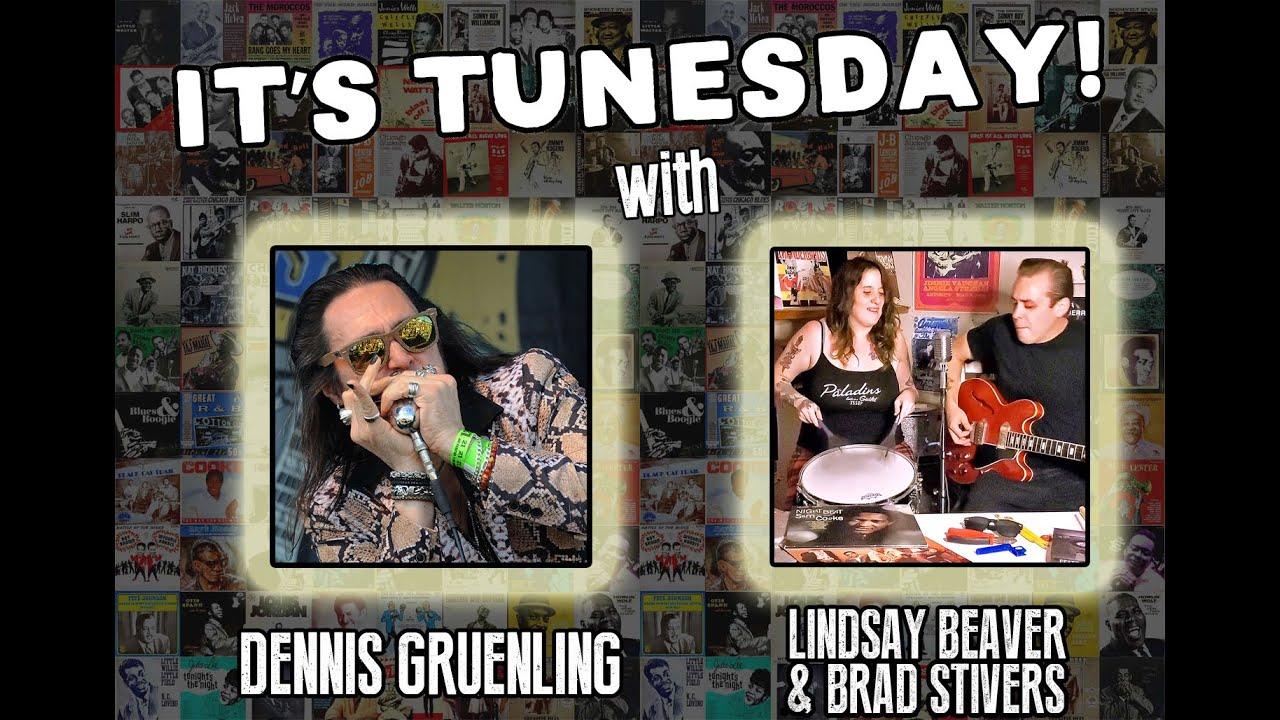 Tunesday #7 - Rock & Roll Harmonica, Blues Harp Jam w/Dennis Gruenling, Lindsay Beaver, Brad Stivers