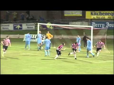 Derry City 1-1 Drogheda United - 19th March 2013