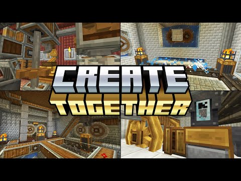 Minecraft Create Mod - My Creations With Create Together