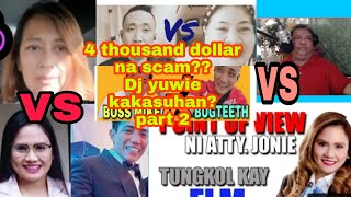 DJ YUWIE   vs INDAY MARIE VS CHERRY SALVADOR / 4K ISSUE ?
