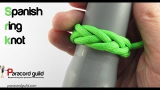 How To Tie A Spanish Ring Knot