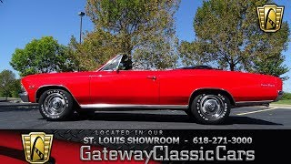 #7438 1966 Chevrolet Chevelle - Gateway Classic Cars of St. Louis