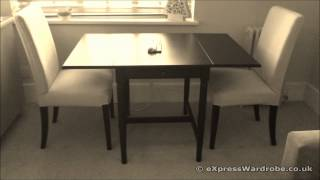 Ikea Ingatorp Dining Table With Henriksdal Chairs