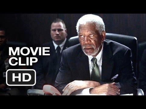 Olympus Has Fallen Movie CLIP - Contact (2013) - Morgan Freeman Movie HD