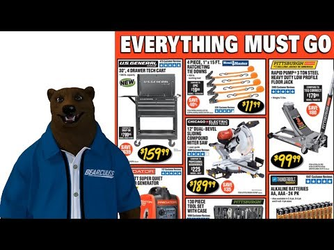 Harbor Freight's March Tool Add (It's March Madness!)