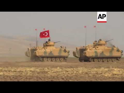 Turkey and Iraq stage joint military exercises