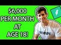 RobinHood Options Trading Strategies for Monthly Income (Beginner Tutorial) EASY $6,000/MONTH!