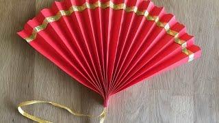 Китайский веер своими руками - поделка к Китайскому Новому Году