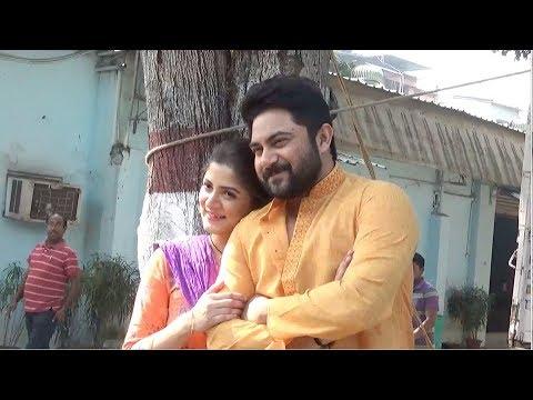 পিয়া রে-এর সেটে চুটিয়ে খুনসুটি সোহম-শ্রাবন্তীর | Soham | Srabanti | Surinder Films