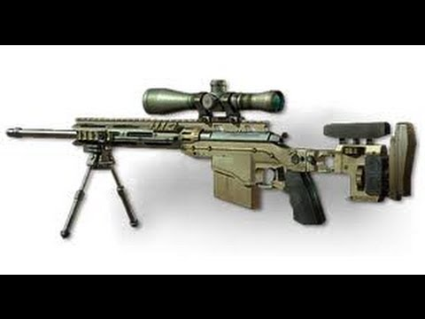 MW3 MSR domination gameplay 26-6 two guys, one bullet