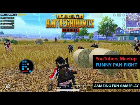 [Hindi] PUBG MOBILE   BIGGEST YOUTUBERS MEETUP PAN FIGHT SO MANY YOUTUBERS IN ONE GAME