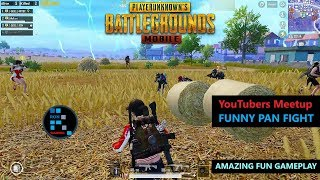 [Hindi] PUBG MOBILE | BIGGEST YOUTUBERS MEETUP PAN FIGHT SO MANY YOUTUBERS IN ONE GAME