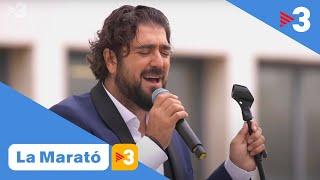 """Antonio Orozco interpreta """"Entre sobras y sobras me faltas"""" - La Marató de TV3"""