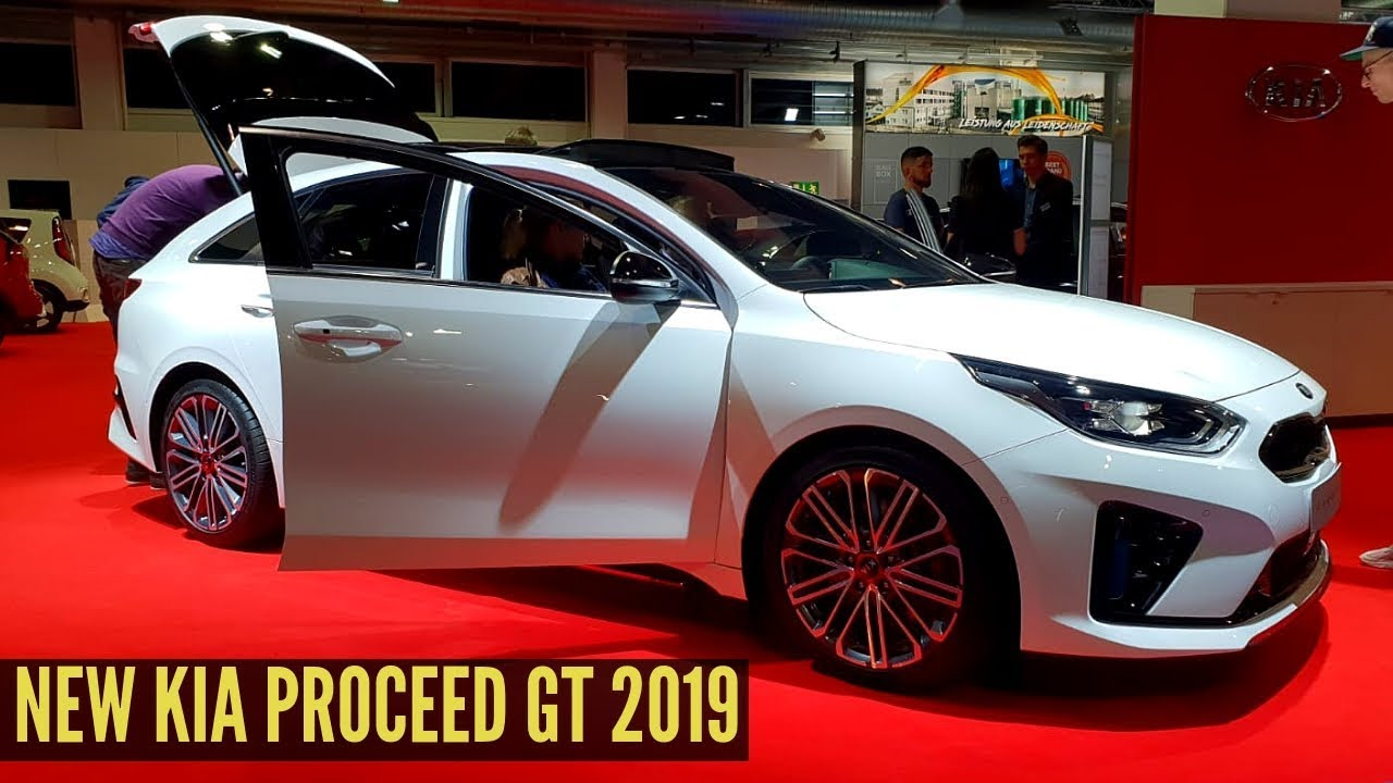 New Kia Proceed Gt 2019 Interior Exterior Review Youtube