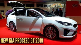 New Kia PROCEED GT 2019 Interior Exterior Review