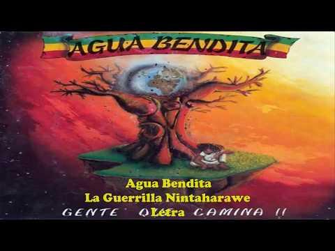 La guerrilla nintaharawe Agua Bendita con letra