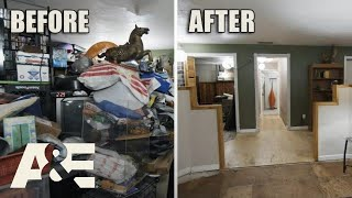 Hoarders: Before & After: 1 MILLION Pounds of Trash Removed From Home (Season 11) | A&E