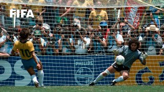 30 YEARS AGO | World Cup Highlights: Brazil - France, Mexico 1986
