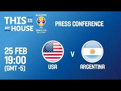 USA v Argentina - Press Conference