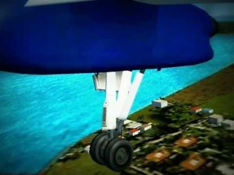 Liat Landing in Anguilla Fs2004