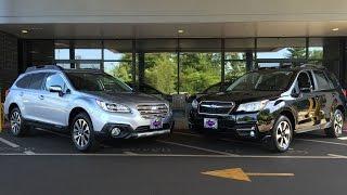 2017 Subaru Forester vs 2017 Subaru Outback