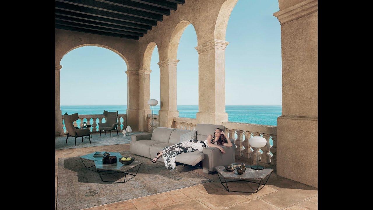 Natuzzi sofa collection iago natuzzi italia sofa for Arte arredo roma