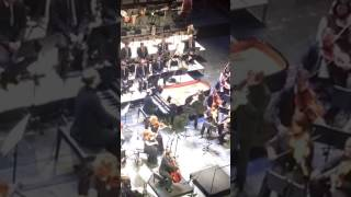 Performing of Giya Kancheli by three musicians at Tbilisi State Ope...