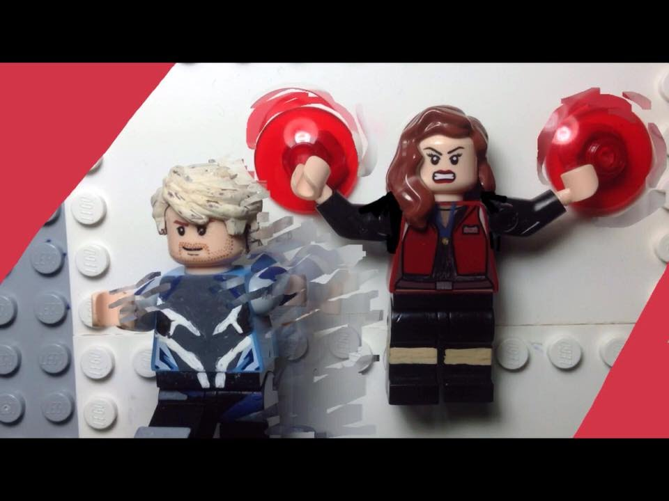 avengers 2 scarlet witch set photos