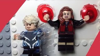 Lego MARVEL: Quicksilver & Scarlet Witch- Custom Minifigures