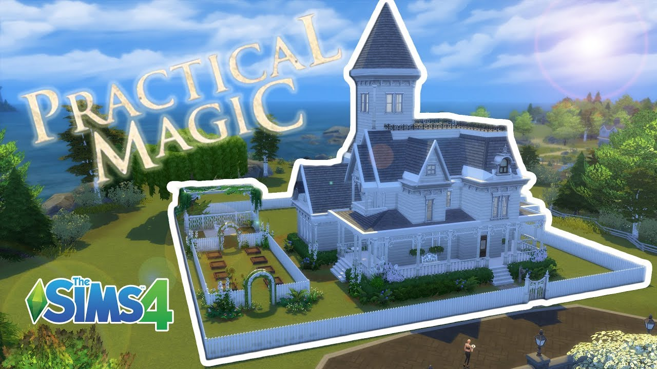 Recreating the Practical Magic House | The Sims 4 - YouTube