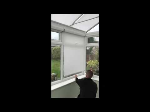 made2measure Slow rise roller blinds
