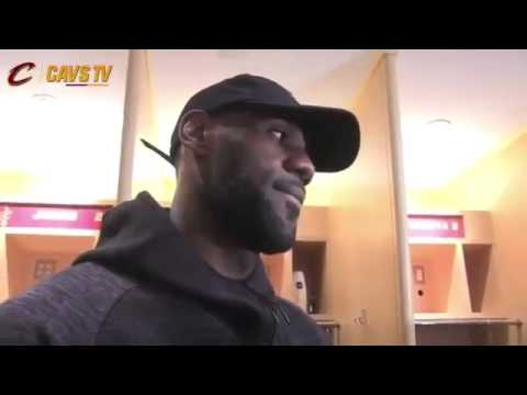Reporter Asks Lebron James Why He Unfollowed Cavaliers on Twitter