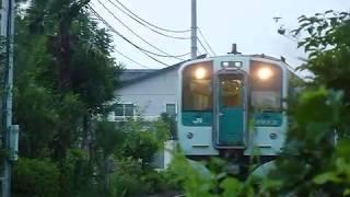 JR四国 1500形+1200形気動車 高徳線 オレンジタウン駅付近通過