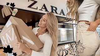 One of Freya Farrington's most viewed videos: HUGE *NEW IN* ZARA AUTUMN HAUL & TRY ON | SEPTEMBER 2019
